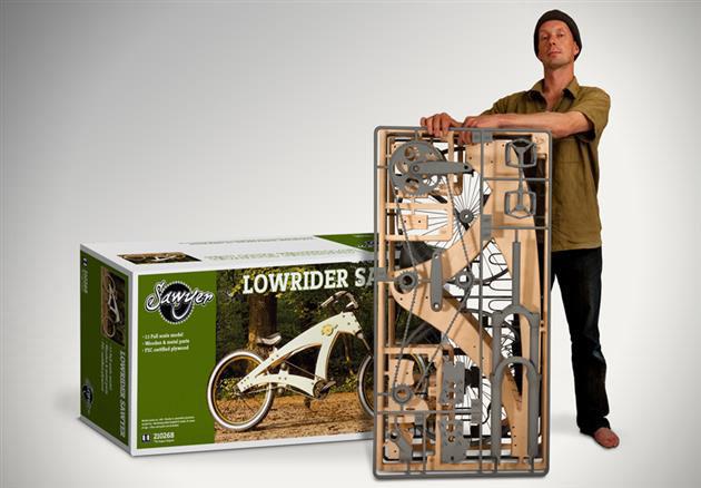 Monta la bicicleta Lowrider Sawyer con tus propias manos