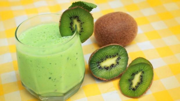 Licuado de kiwi: nutritivo y energizante