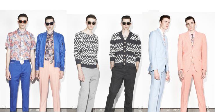 Moda masculina primavera-verano 2014 de Marc Jacobs