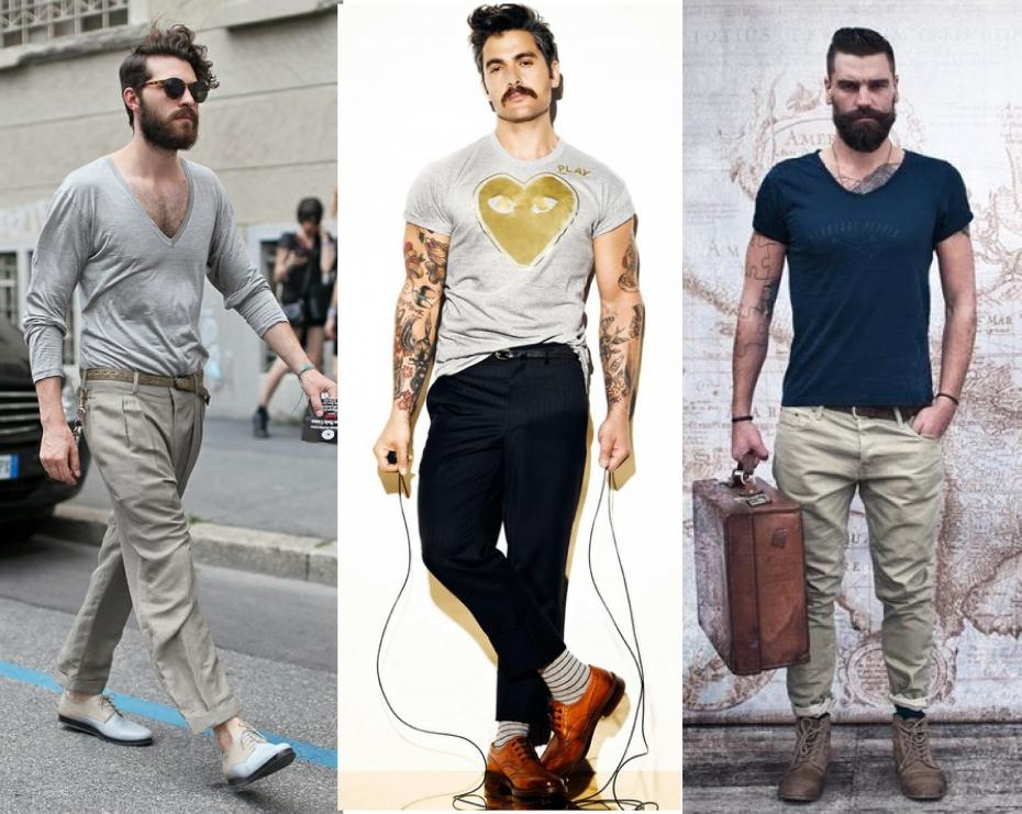 Look hipster para hombres