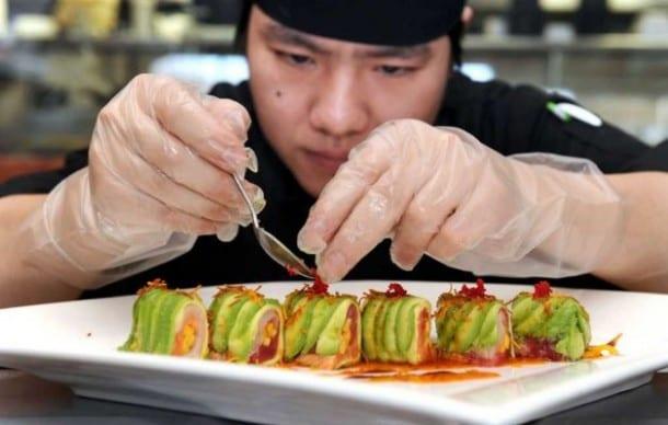 Propiedades del sushi para la salud