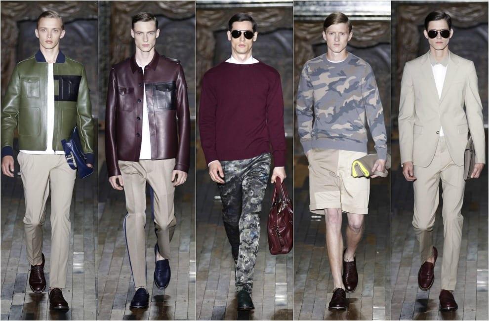 Moda masculina de Valentino para primavera-verano 2014