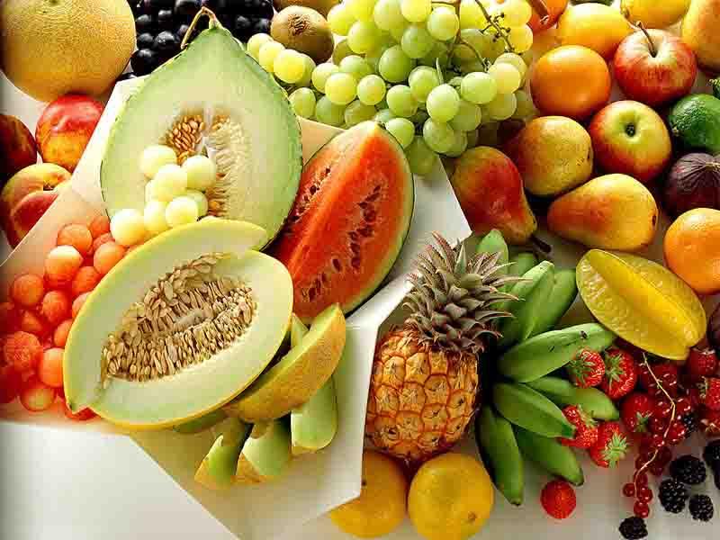 Consumo de frutas en el verano