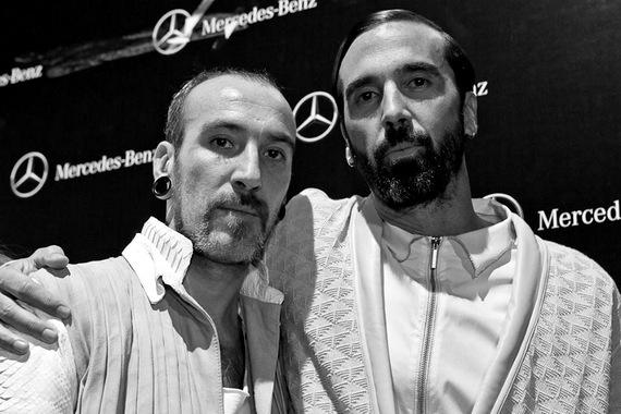 1-Jota con Etxeberria SS14' Mercedes Benz Fashion Week Madrid