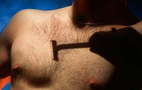 Formas de depilarse el pecho