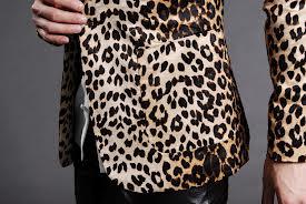 Estampado de leopardo para hombres