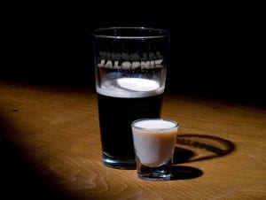 Receta del trago Irish car bomb