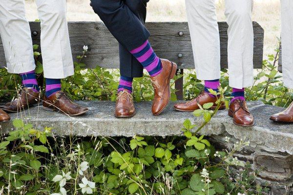 La moda de mostrar los calcetines