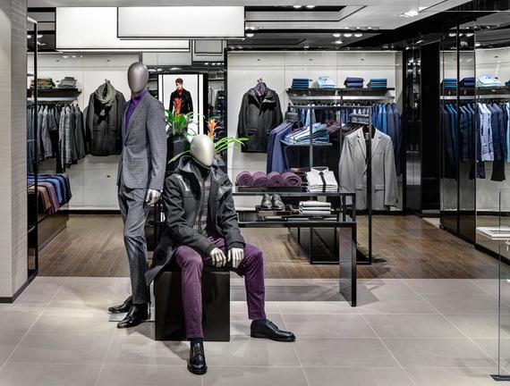 Hugo Boss tienda Nueva York