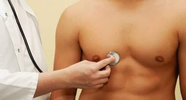 Síntomas y tratamiento del cáncer de mama en los hombres