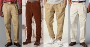 La tendencia de los pantalones con pinzas