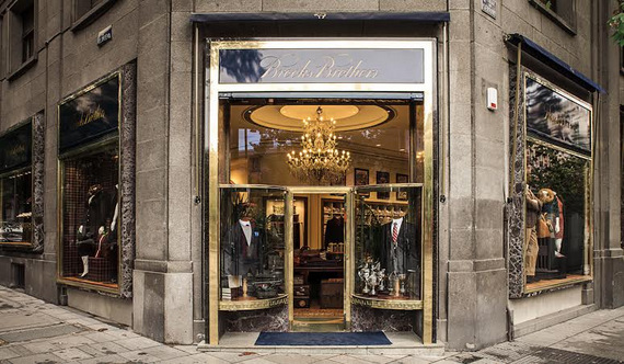 Brooks Brothers, tienda, shopping