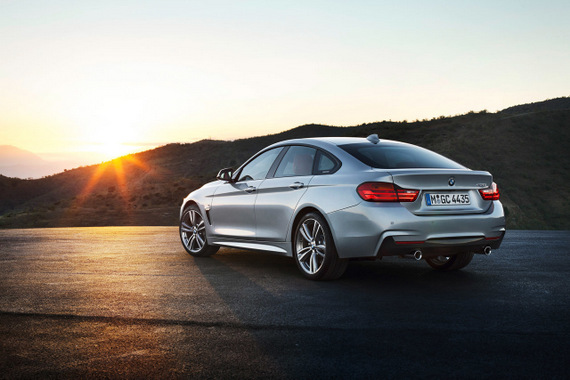 BMW 4 Series Gran Coupé 2015
