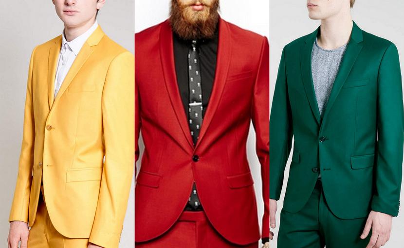 trajes color
