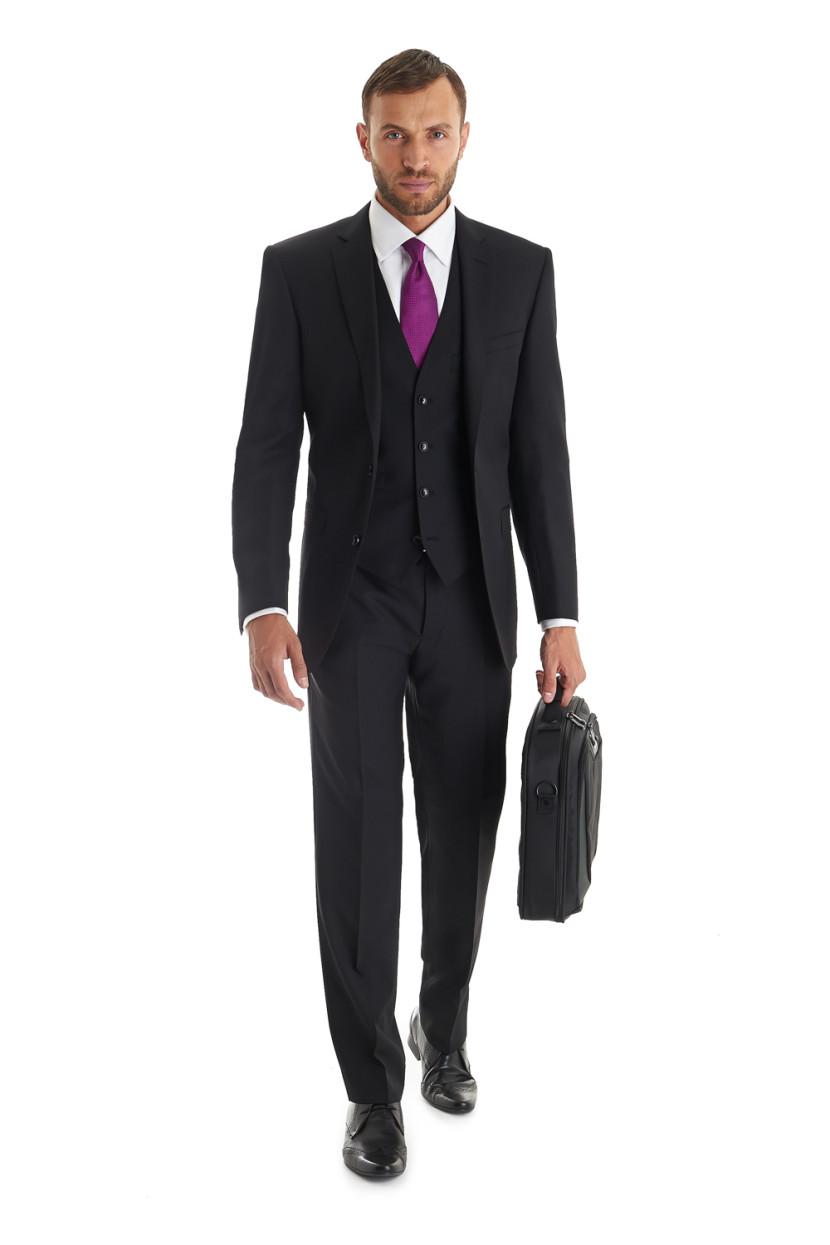 traje negro
