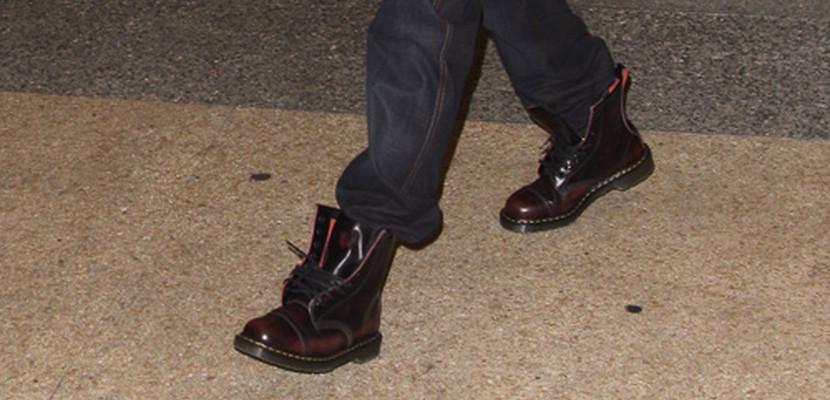Botas Doctor Martens con pantalón recto