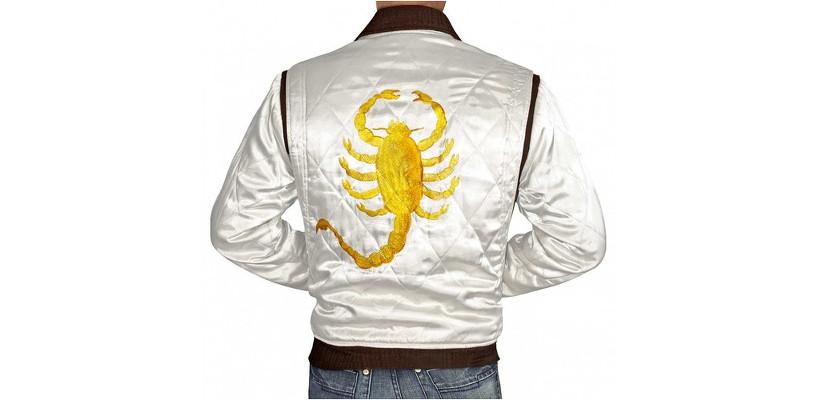 Cazadora con escorpión en la espalda de la película 'Drive'