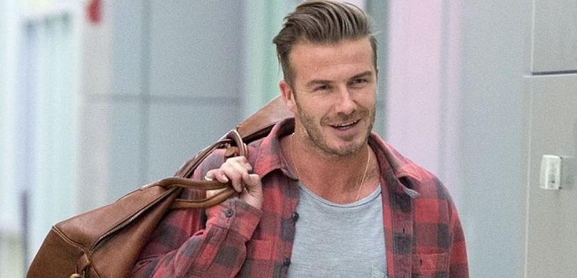 David Beckham llega a Nueva York