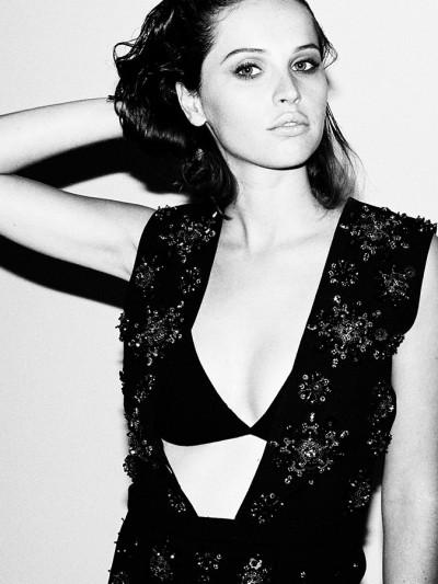 Felicity Jones en Vogue Italia