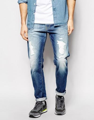 Jeans desgastados de Pepe Jeans