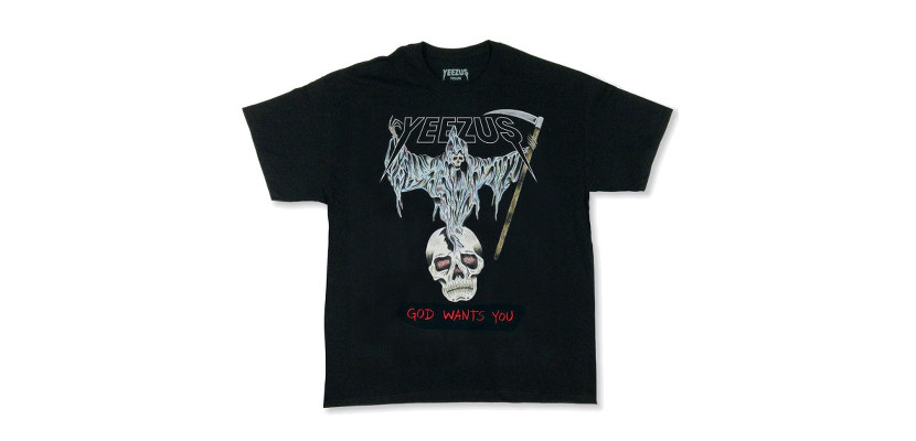 Camiseta Yeezus
