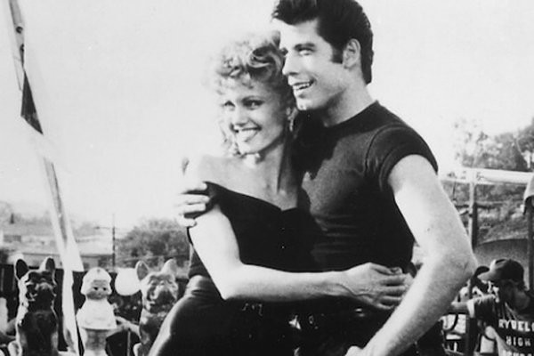 Travolta y Newton-John en 'Grease'