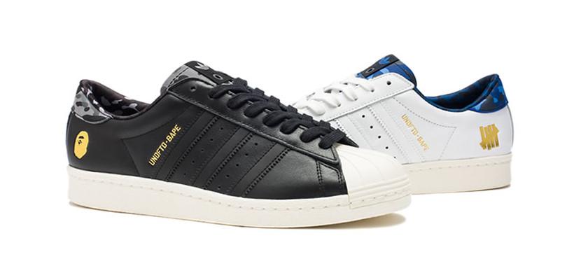 Bape x UNDFTD x Adidas Originals Superstar 80s