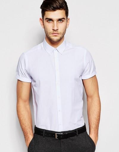 Camisa de manga corta de ASOS