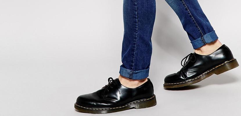 Zapatos grises formales Dr. Martens para hombre 0LIYAL