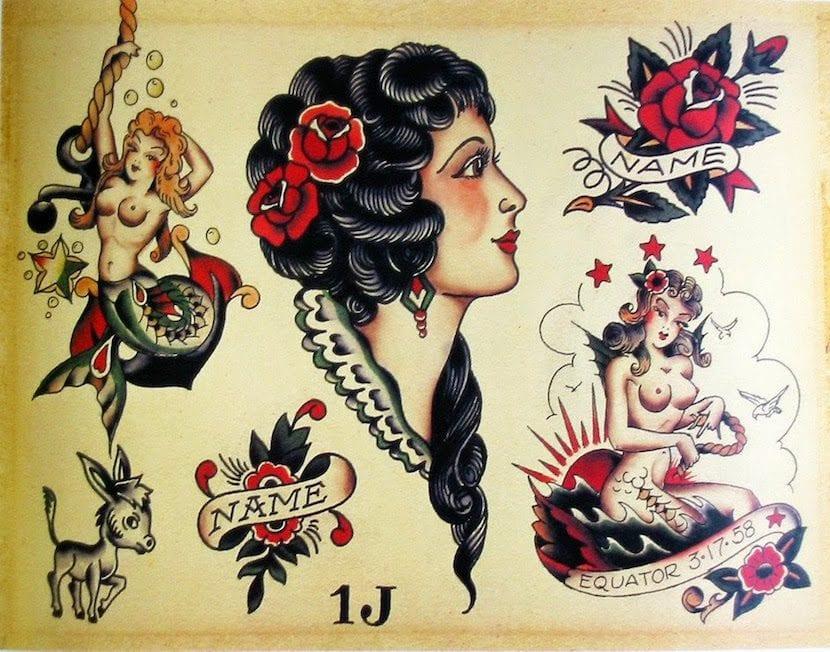 tatuaje americano