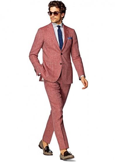 Traje rojo de SuitSupply