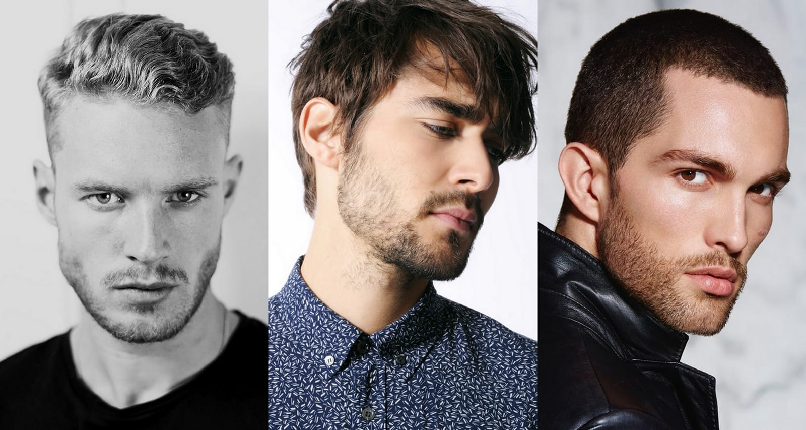 cortes de pelo para barba de dos días