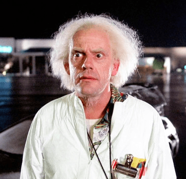 Doc de 'Regreso al futuro'