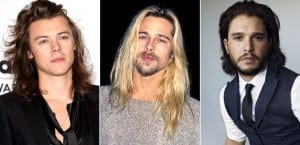 Famosos con el pelo largo