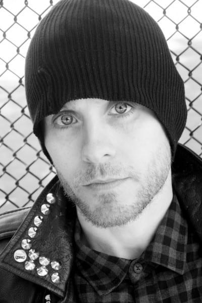 Jared Leto con gorro