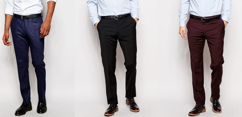 Pantalones de lana en ASOS