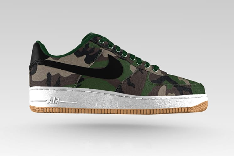 nike air force 1 camuflaje