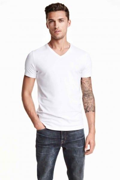Camiseta elástica de H&M