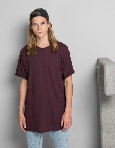 Camiseta oversize de Bershka