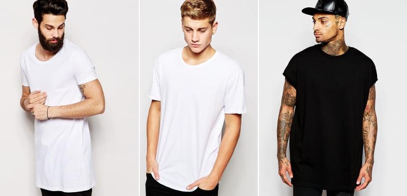 Camisetas extragrandes