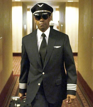 Denzel Washington en 'El vuelo'