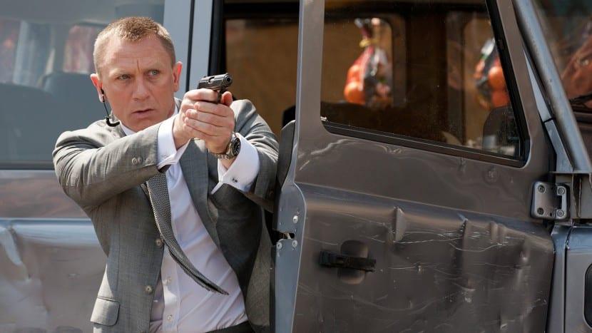 James Bond y su reloj Omega Seamaster
