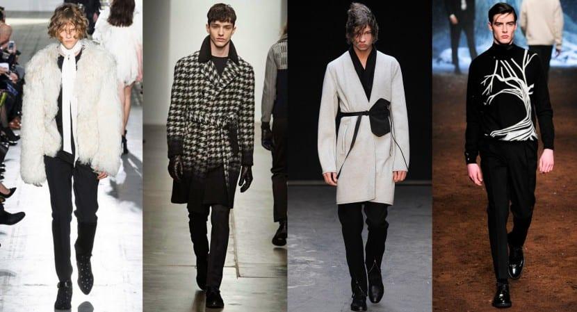 tendencias otoño invierno 2015 blanco y negro