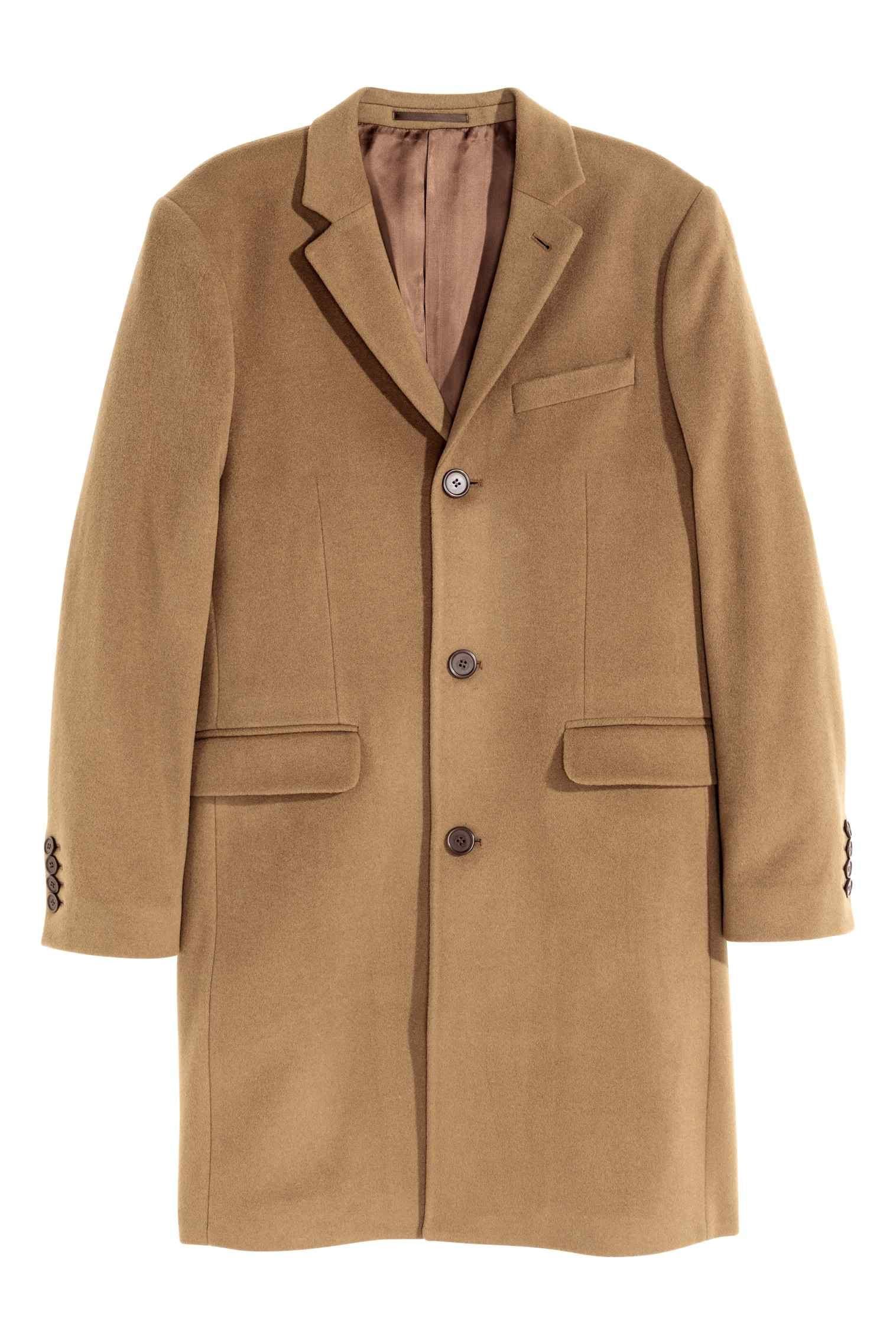 Camel coat de H&M