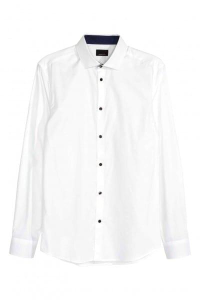 Camisa blanca de H&M