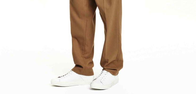 Pantalón de traje ancho de H&M