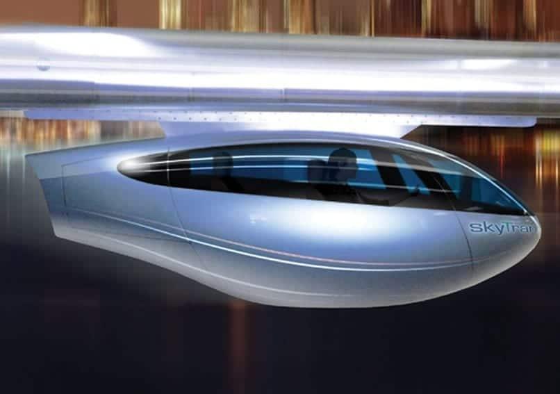 Cápsula del SkyTran