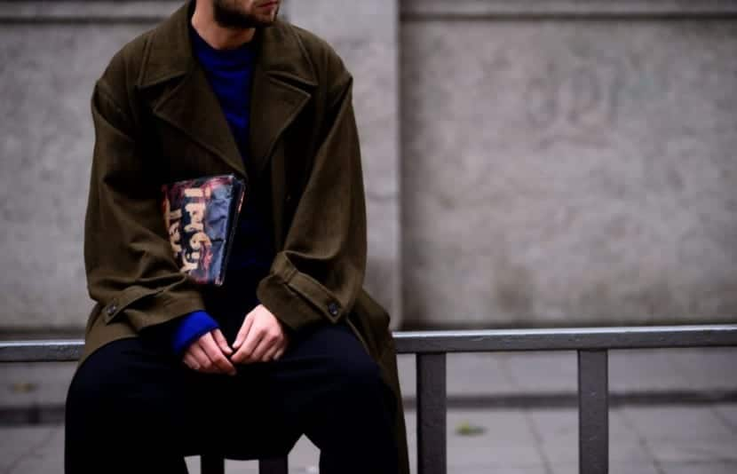 Maxi coats street style