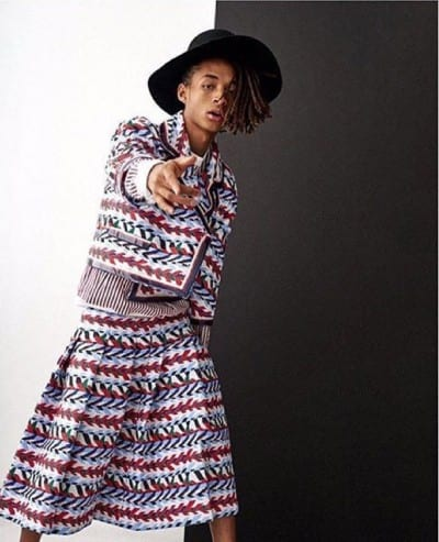 Jaden Smith en Vogue Corea