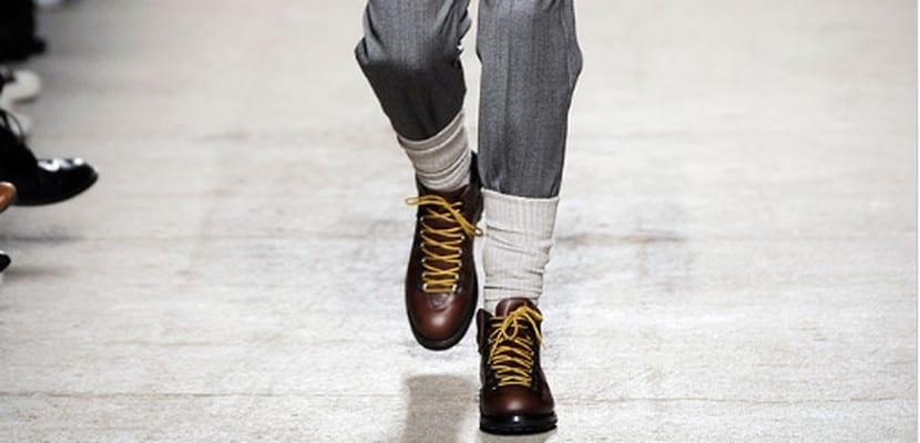 Calcetines altos de hombre